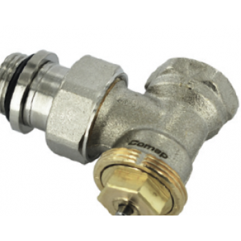 THERMOSTATIC VALVE M28, ANGLE , FEMALE THREAD WITH 2 SEALING O' RINGS