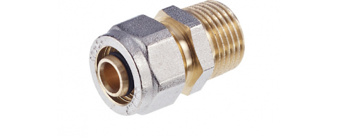 Metal Compression Fittings for Multilayer Pipe