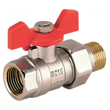 BALL VALVES FULL BORE WITH T BAR AND UNION CONNECTION