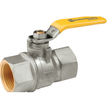 BALL VALVES FULL BORE WITH STEEL LEVER