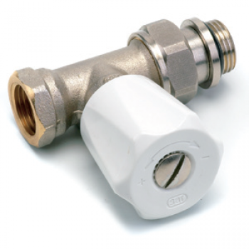 MANUAL VALVE EUROSAR , STRAIGHT, FEMALE , WITH 2 O'RING S