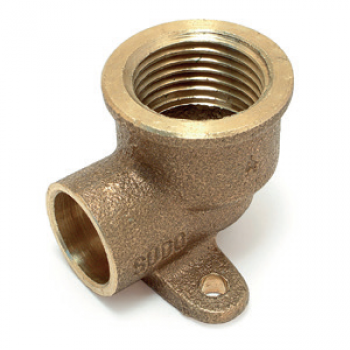 WALL PLATE ELBOW FEMALE