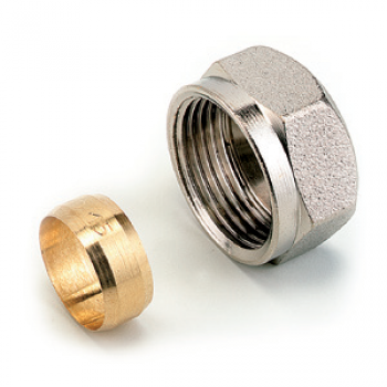 DISTRIBUTOR CONNECTION FITTING WITH CONNECTION PIPE (SPARE PART)