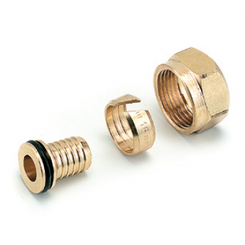 CONNECTION FITTINGS FOR PE-X PIPES
