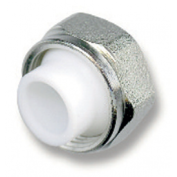 COMPRESSION FITTINGS NICKEL PLATED FOR MULTILAYER PIPES