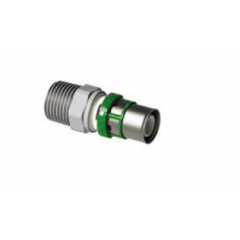 STRAIGHT COUPLING MALE CONICAL THREAD