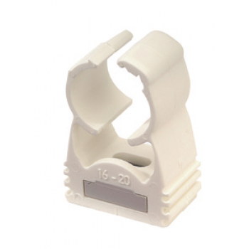 WHITE AUTOMATIC CLIP-ON COLLAR