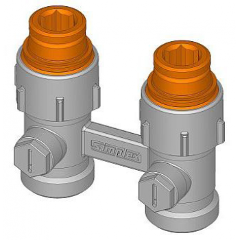 """ADAPTOR FOR RADIATORS WITH CONNECTION 1/2"""" FEMALE"""