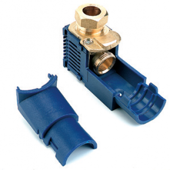 JUNCTION BOX FOR HEATING APPLICATIONS WITH COMPRESSION UNION DN15