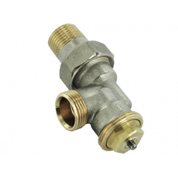 THERMOSTATIC VALVE M28 , REVERSED ANGLE ,MALE THREAD