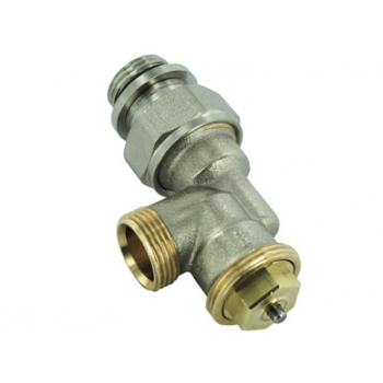 THERMOSTATIC VALVE M28 , REVERSED ANGLE ,MALE THREAD With 2 SEALING O' RINGS