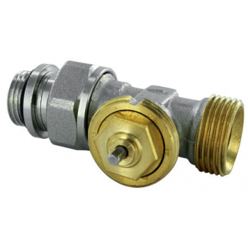 THERMOSTATIC VALVE M28, STRAIGHT, FEMALE THREAD WITH 2 SEALING O' RINGS